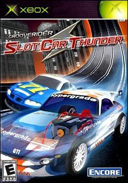 Grooverider: Slot Car Thunder (Xbox) by Encore Software Box Art