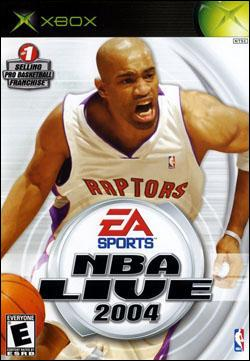 NBA Live 2004 (Xbox) by Electronic Arts Box Art