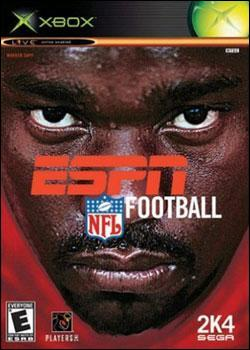 ESPN NFL Football 2K4 (Xbox) by Sega Box Art
