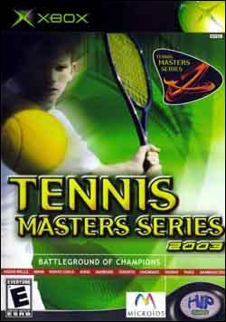 Tennis Masters Series 2003 (Xbox) by Hip Games Box Art