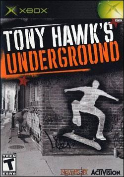 Tony Hawk's Underground (Xbox) by Activision Box Art