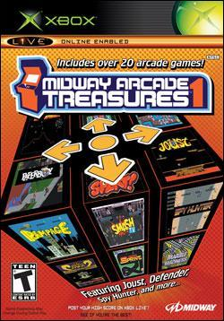 Midway Arcade Treasures (Xbox) by Midway Home Entertainment Box Art