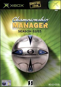 Championship Manager: Season 02-03 (Xbox) by Eidos Box Art