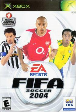 FIFA Soccer 2004 (Xbox) by Electronic Arts Box Art