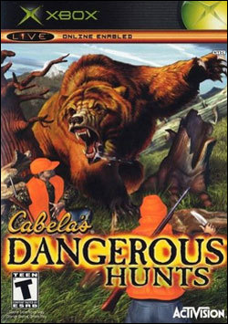 Cabela's Dangerous Hunts (Xbox) by Activision Box Art