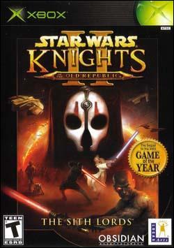 Star Wars: Knights of the Old Republic 2: The Sith Lords (Xbox) by LucasArts Box Art