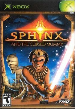 Sphinx and the Cursed Mummy (Xbox) by THQ Box Art