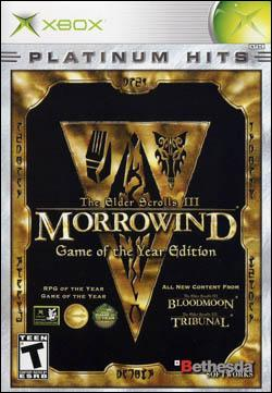 Elder Scrolls III: Morrowind GOTY Edition Box art