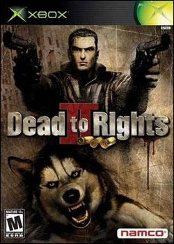 Dead to Rights II: Hell to Pay (Xbox) by Namco Bandai Box Art