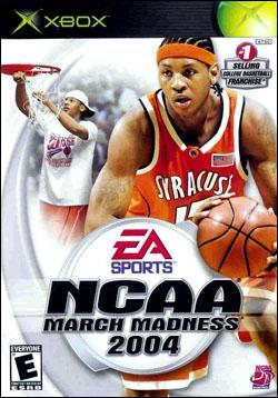 NCAA March Madness 2004 (Xbox) by Electronic Arts Box Art