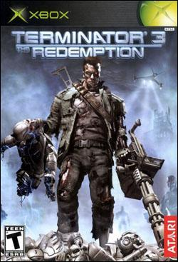Terminator 3: Redemption (Xbox) by Atari Box Art