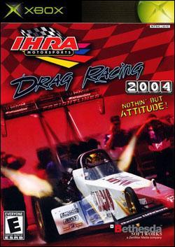IHRA Drag Racing 2004 (Xbox) by Bethesda Softworks Box Art