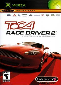 ToCA Race Driver 2: The Ultimate Racing Simulator (Xbox) by Codemasters Box Art