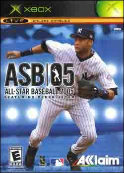 All-Star Baseball 2005 (Xbox) by Acclaim Entertainment Box Art