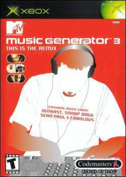 MTV Music Generator 3: This is the Remix (Xbox) by Codemasters Box Art
