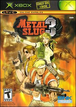 Metal Slug 3 (Xbox) by SNK NeoGeo Corp. Box Art