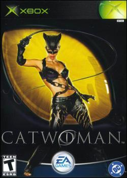 Catwoman (Xbox) by Electronic Arts Box Art