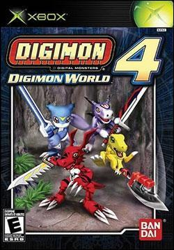 Digimon World 4 (Xbox) by Ban Dai Box Art