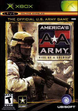 America's Army:  Rise of a Soldier (Xbox) by Ubi Soft Entertainment Box Art