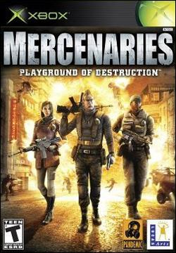 Mercenaries: Playground of Destruction (Xbox) by LucasArts Box Art