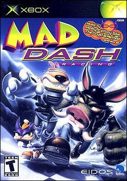 Mad Dash Racing Box art