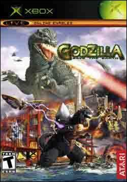Godzilla: Save the Earth (Xbox) by Atari Box Art