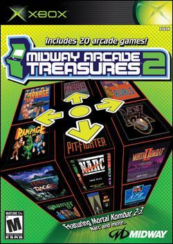 Midway Arcade Treasures 2 (Xbox) by Midway Home Entertainment Box Art