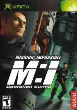 Mission: Impossible: Operation Surma (Xbox) by Atari Box Art