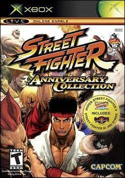 Street Fighter Anniversary Collection (Xbox) by Capcom Box Art