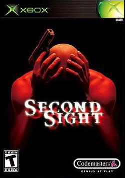 Second Sight (Xbox) by Codemasters Box Art