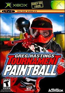 Greg Hastings Tournament Paintball (Xbox) by Activision Box Art