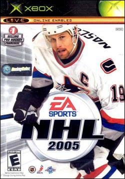 NHL 2005 (Xbox) by Electronic Arts Box Art