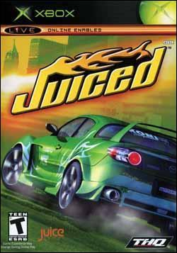 Juiced (Xbox) by THQ Box Art