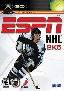 ESPN NHL 2K5 (Xbox) by Sega Box Art