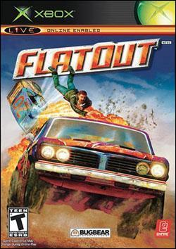 FlatOut (Xbox) by Empire Interactive Box Art