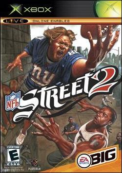 NFL Street 2 (Xbox) by Electronic Arts Box Art