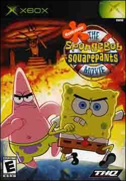 SpongeBob SquarePants: The Movie (Xbox) by THQ Box Art