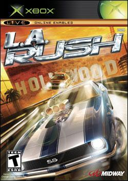 L.A. Rush (Xbox) by Midway Home Entertainment Box Art
