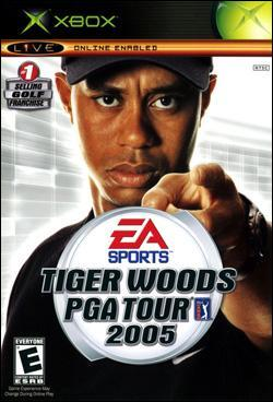 Tiger Woods PGA Tour 2005 (Xbox) by Electronic Arts Box Art