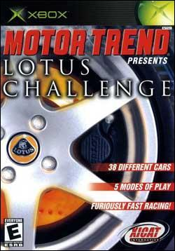 Motor Trend presents Lotus Challenge (Xbox) by Xicat Interactive Box Art