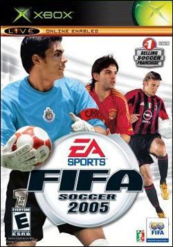 FIFA Soccer 2005 (Xbox) by Electronic Arts Box Art