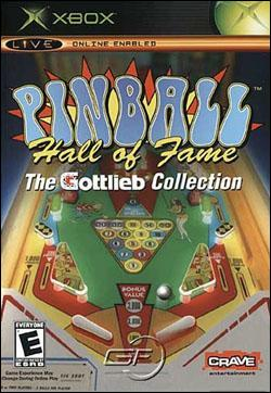 Pinball Hall of Fame: The Gottlieb Collection (Xbox) by Crave Entertainment Box Art