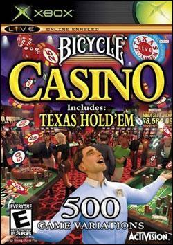Bicycle Casino 2005 (Xbox) by Activision Box Art