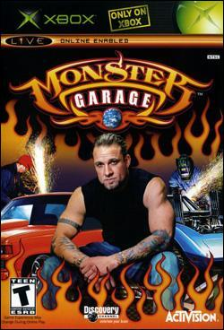 Monster Garage: The Game (Xbox) by Activision Box Art