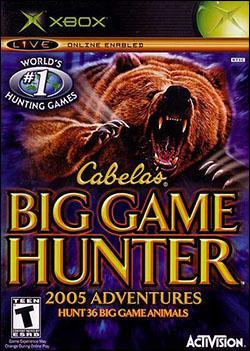 Cabela's Big Game Hunter 2005 Adventures (Xbox) by Activision Box Art