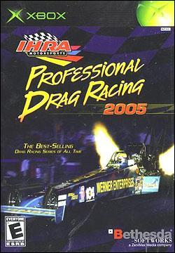 IHRA Drag Racing 2005 (Xbox) by Bethesda Softworks Box Art