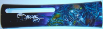 Custom plate airbrushed by MyPaintEffects.