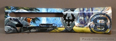 Hand painted by Pavel Dolgov. Halo 3 Sniper at Valhalla for 8bitbrigade.