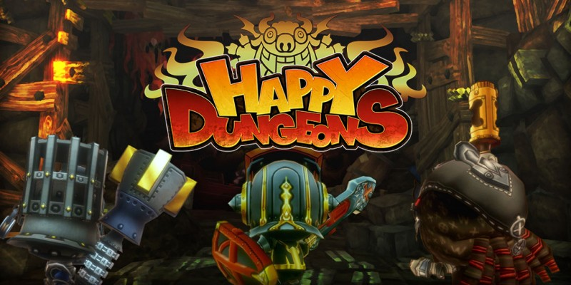 Happy Dungeons  Dungeon Crawling At Its Happiest by Adam Dileva