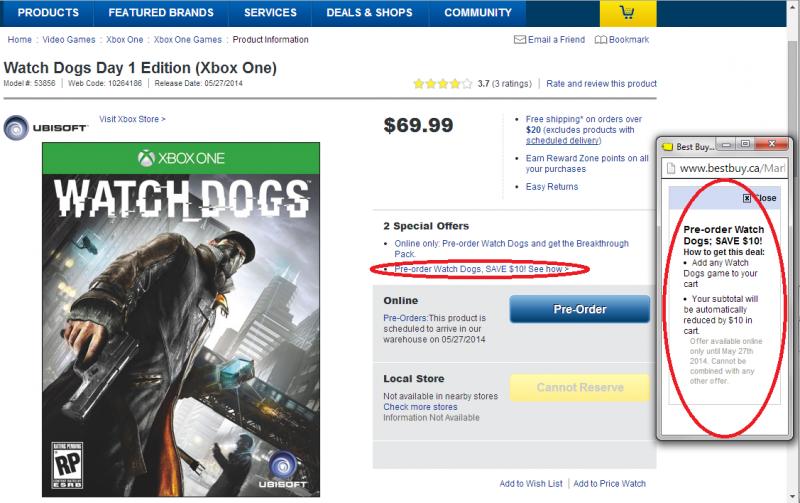 Watch Dogs cheat codes (Xbox One) - eXga.us